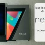 Test et caractéristiques de la tablette Asus Nexus 7