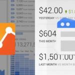 Lancement de l'application Google Adsense et mise à jour de Google Analytics sur mobile