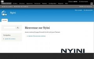 Nouveau site sur Drupal