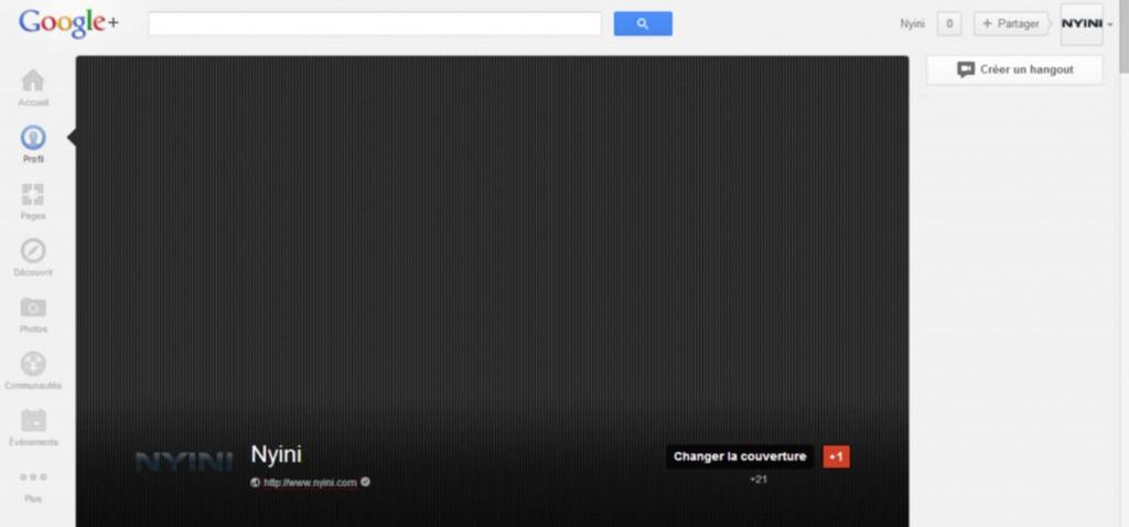 Nouvelle taille des couvertures Google plus