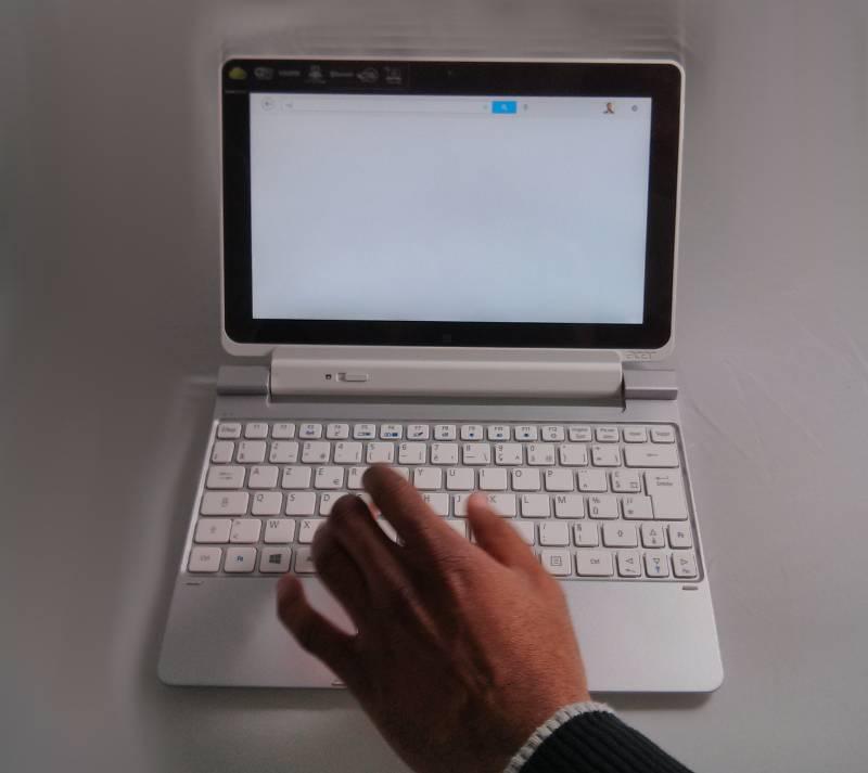 dock-clavier