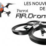 Salon du Bourget : l'AR.Drone 2 fait le plein de nouveautés