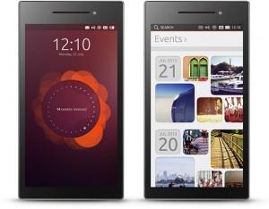 interface ubuntu sur smartphone