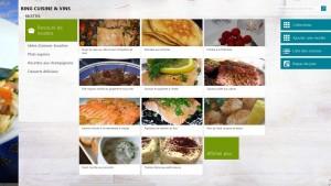 Cuisine & Vins - Windows 8