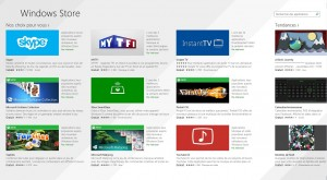 Nouveau Windows Store